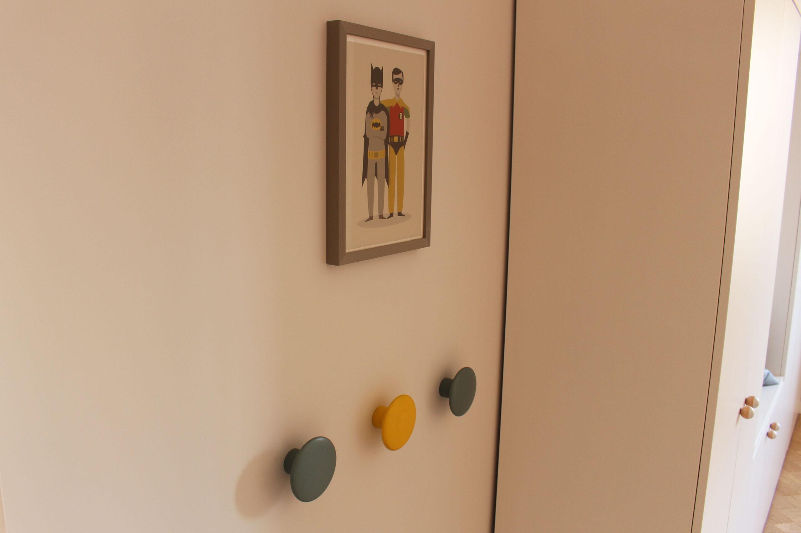 detalle habitacion niños